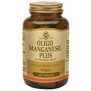 Solgar Oligo Manganese Plus Integratore Alimentare 100 Tavolette
