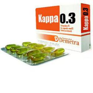 Kappa 03 30cps Softgel