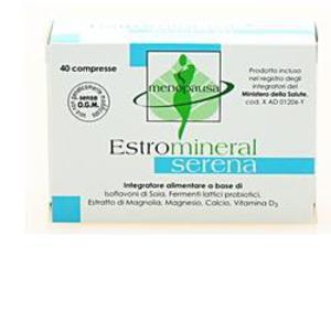 Estromineral Serena integratore per menopausa 40cpr