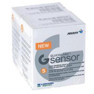 Glucocard G Sensor 2 X 5 Strisce