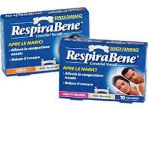 RespiraBene Adulti Grande 10 cerottini