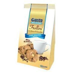 Giusto Frollini con Gocce di Cioccolato 350g