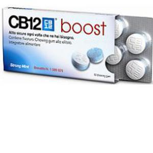 CB12 Boost 10 Chewing Gum