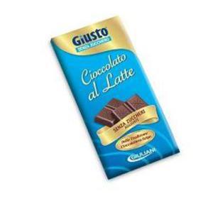 Giusto S/Zucch. Cioccolato al Latte 85g