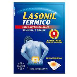 Lasonil Termico Fasce autoriscaldanti Schiena e Spalle 3 pezzi