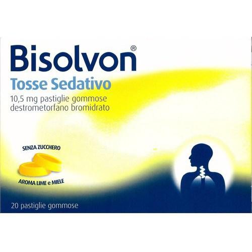 Bisolvon Tosse Sedativo 20 pastiglie gommose