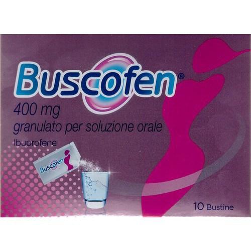 Buscofen Granulato 10bustine 400mg