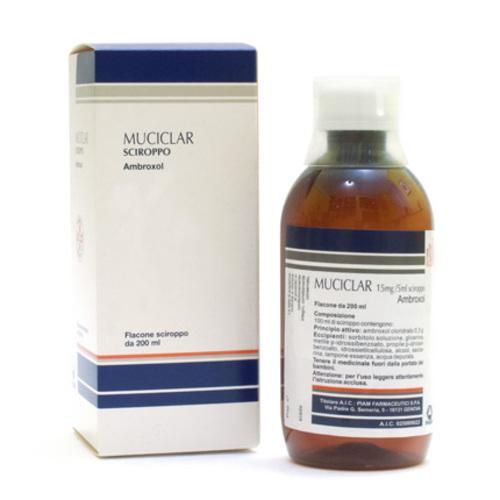 Muciclar Ambroxolo 200ml sciroppo 0.3%