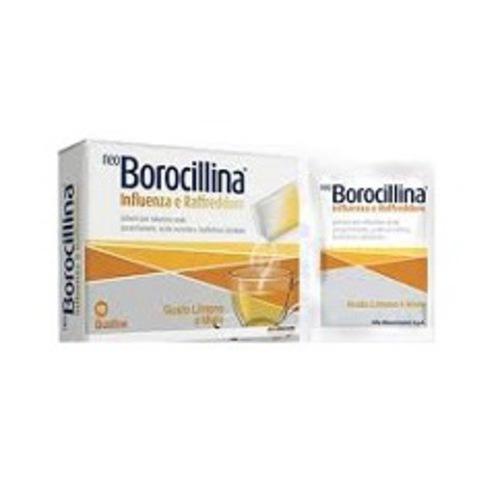 NeoBorocillina Influenza e Raffredore 10 bustine 4g